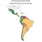 Visualización de datos: Facilidad para hacer negocios en América Latina y el Caribe – Doing Business 2016